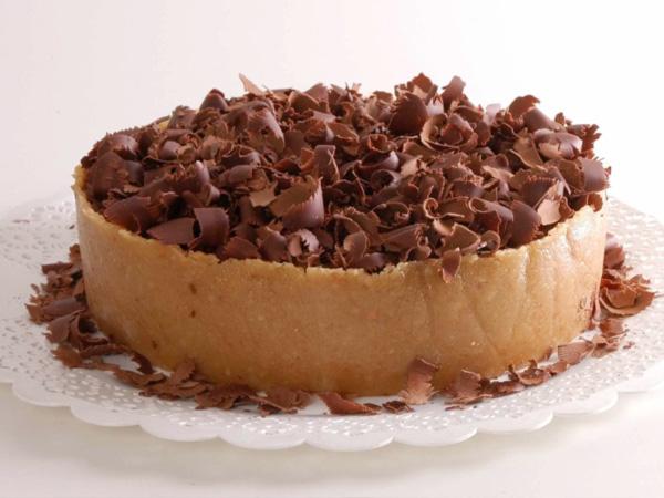 Torta de Marzipan com Mousse