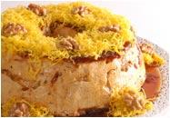 Torta de Espuma Nozes
